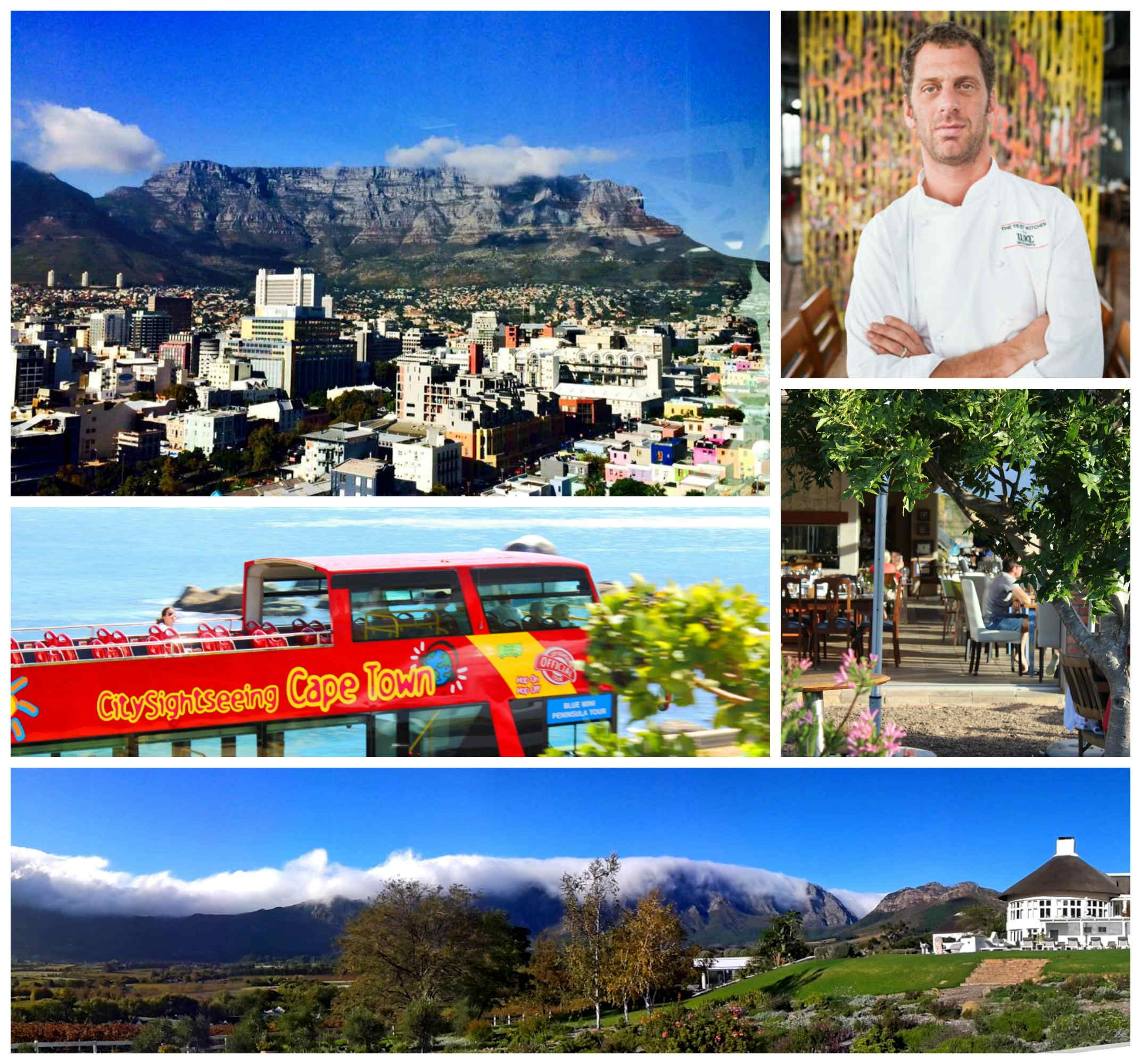 Cape Town, Best City in the World, Luke Dale-Roberts, CitySightseeing, Franschhoek, Table Mountain, Creation Wines