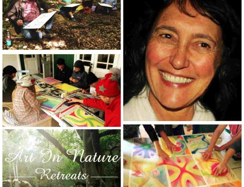 Allow nature to nourish and heal at a Art in nature retreat at Bodhi Khaya